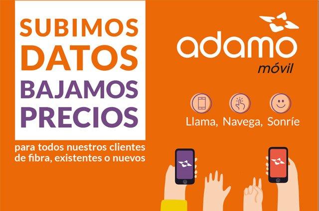 nuevas tarifas móviles de Adamo