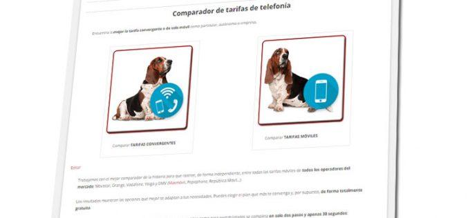 Movilonia.com integra el mejor comparador de la historia de tarifas de telefonía