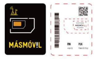 nueva tarjeta SIM de Masmóvil