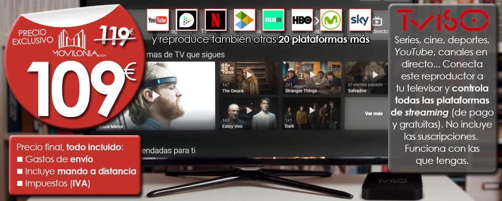 oferta Tviso con Movilonia.com