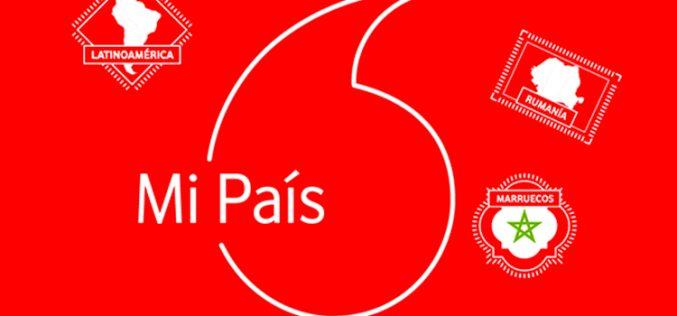 Vodafone lanza Mi País, su nueva tarifa prepago con llamadas internacionales