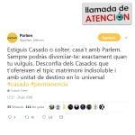 Parlem contra Pablo Casado