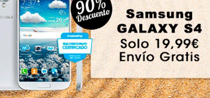 Un Samsung Galaxy S4 por menos de 20 euros, nueva oferta de FreedomPop