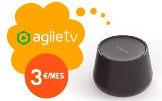 Descodificador Agile TV