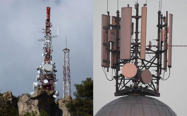 venta de antenas de telefonía de Vodafone