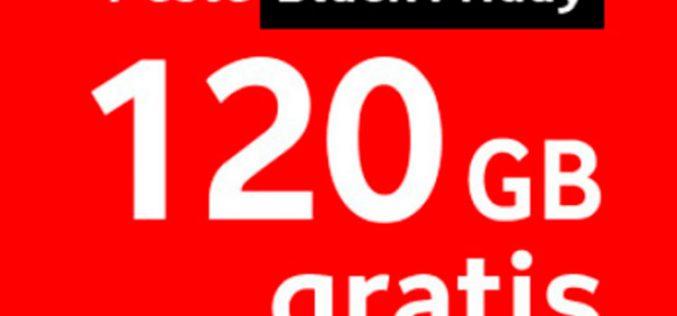 Vodafone se une a las ofertas del Black Friday y regala 120GB durante un año