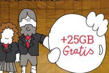 Lowi pone la guinda a un año de ofertas con 25GB gratis por Navidad
