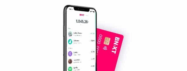 tarjeta y aplicación Bnext