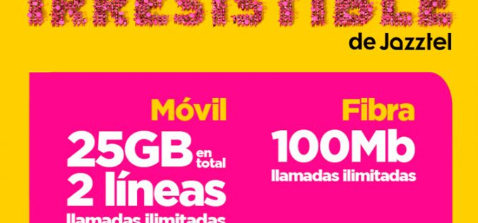 Doblemente Irresistible, la nueva tarifa de Jazztel para compartir
