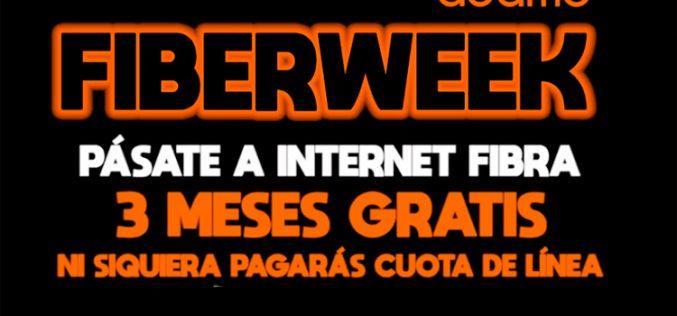 Llega la Fiber Week de Adamo: tres meses de fibra gratis