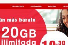 You Mobile planta cara con 35GB y llamadas ilimitadas