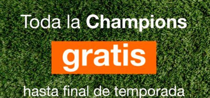 Orange busca el pelotazo: Champions League gratis hasta final de temporada