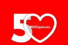 Vodafone quiere enamorar a sus clientes regalándoles 50GB extra por San Valentín