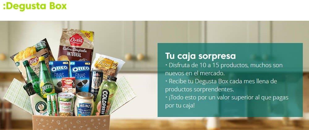 Degusta Box con la tarjeta Bnext