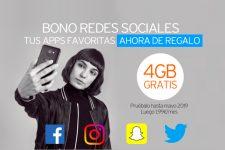 Para ser el más popular: Simyo regala su bono de redes sociales hasta mayo