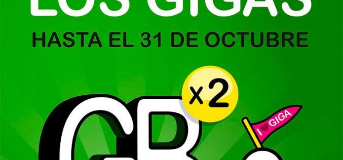 La fiesta del doble de GB de Suop se alarga hasta octubre