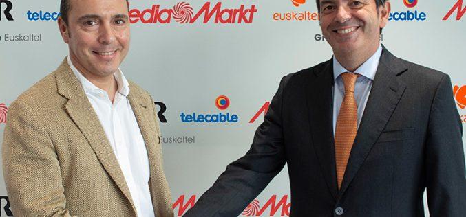 R que R: Euskaltel comienza su expansión por España con Media Markt