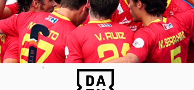 Dazn, con la selección española de hockey
