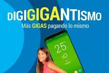 Digi mejora los GB de sus tarifas móviles para apuntalar la expansión de su fibra óptica