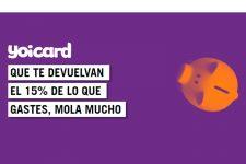 Yoigo devuelve el 15% de lo que se paga con su tarjeta Yoicard