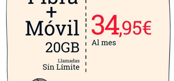 Lowi rescata su oferta de fibra y móvil por 34,95 euros por el Black Friday