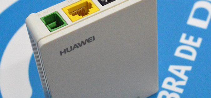 Así es la nueva ONT Huawei del equipo de fibra óptica de Digi