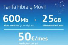 La fibra óptica de O2 vuela de 300 a 600Mbps