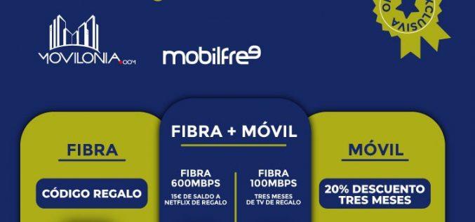 Mobilfree y Movilonia.com se unen para lanzar la oferta de telefonía más libre